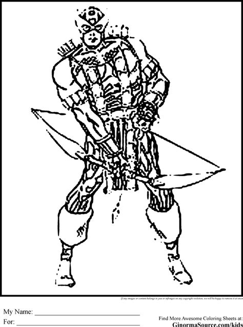 coloring pages the avengers coloring pages hawkeye