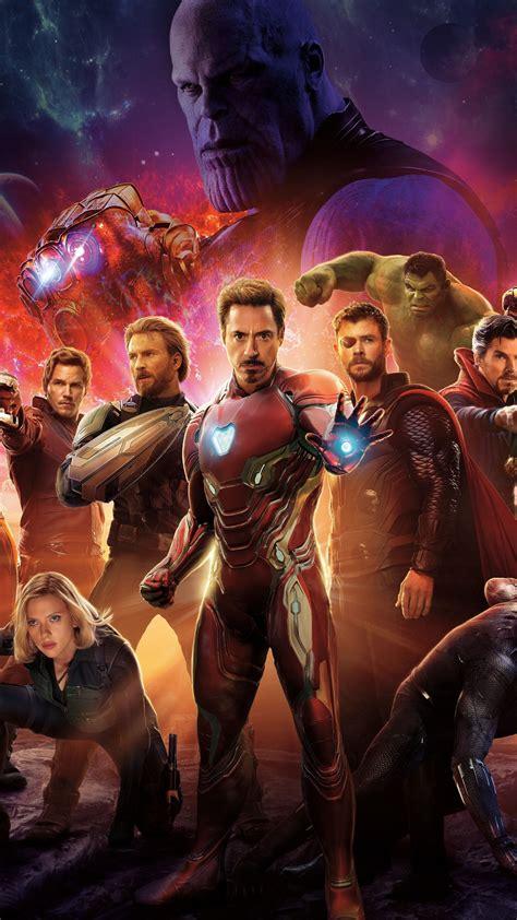wallpaper avengers infinity war poster  movies