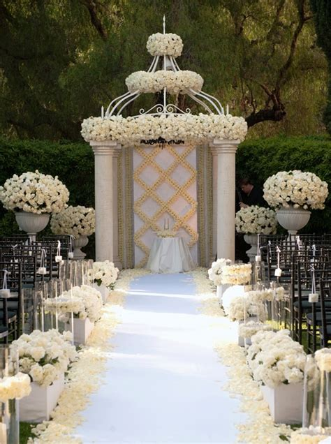 outdoor wedding arches archives weddings romantique