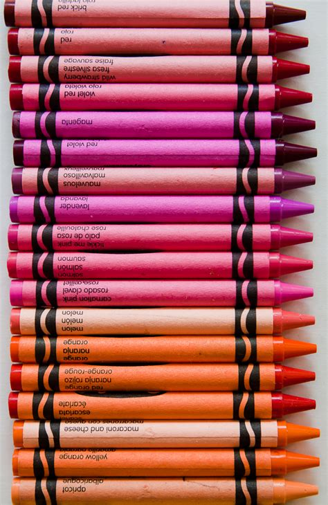 Orange Crayola Crayon Color