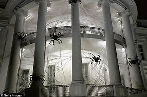 White House gets a spooky Halloween makeover Daily Mail