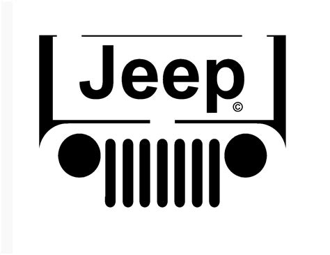 jeep logo vector jeep grill logo tattoo image 218