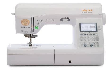 baby lock brilliant sewing quilting machine meissner