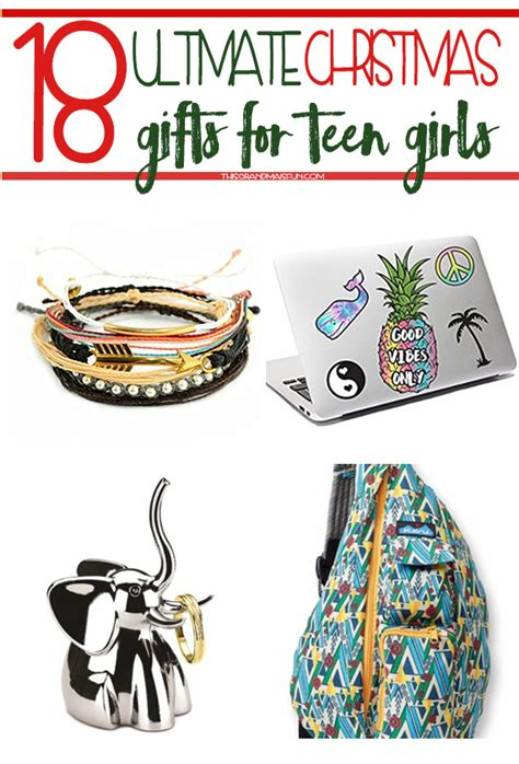 18 Ultimate Christmas Gifts For Teen Girls  Tgif This