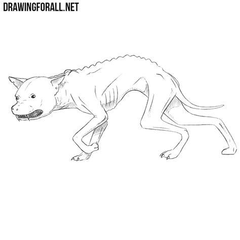 draw  chupacabra drawingforallnet