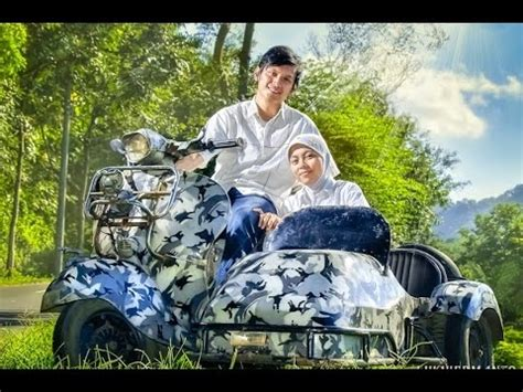 foto pre wedding unik pakai vespa jadul youtube