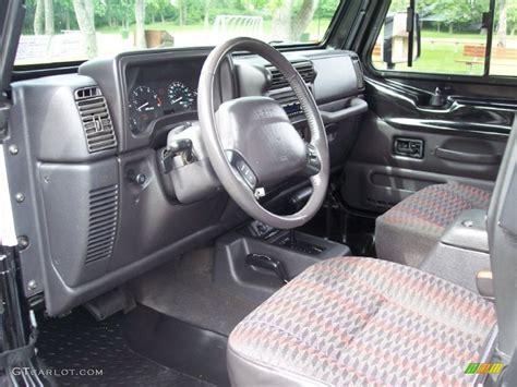 interior jeep wrangler 2000 jeep wrangler sport 4x4 interior photo 65948954