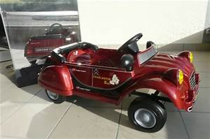 VOITURE A PEDALES CITROEN 2 CV CHARLESTON ROUGE TOYS TOYS