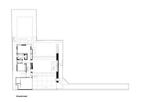 2828 ground floor plan hunters hill house arkhefield archdaily