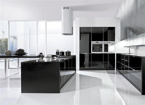 cocina americana en blanco  negro imagenes  fotos