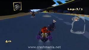 Crash Team Racing 2010 Happy Woods Crash Mania
