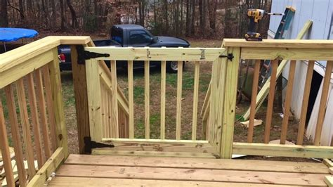 build  deck gate youtube
