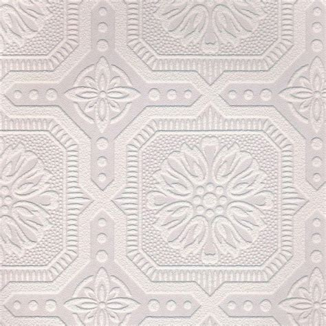 White Paintable Wallpaper   Paintable wallpaper, Textured