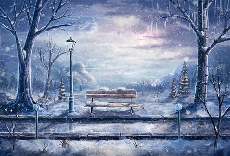 Anime Wallpapers Winter - winter anime wallpaper 183