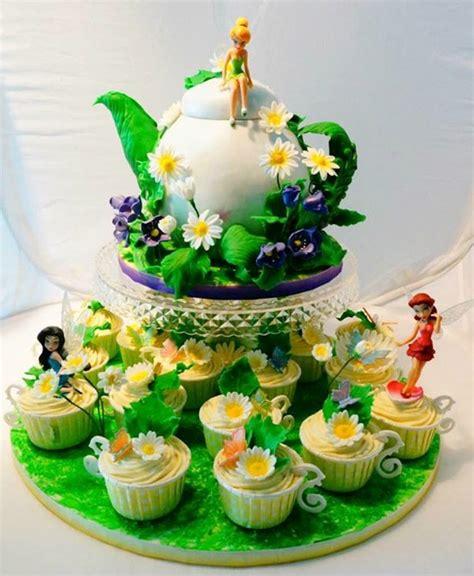 deco de chambre bebe magnifique gâteau fée clochette
