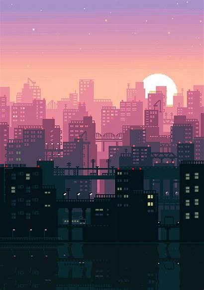 Japanese Gifs Japan Pixel Animated Animation Japon