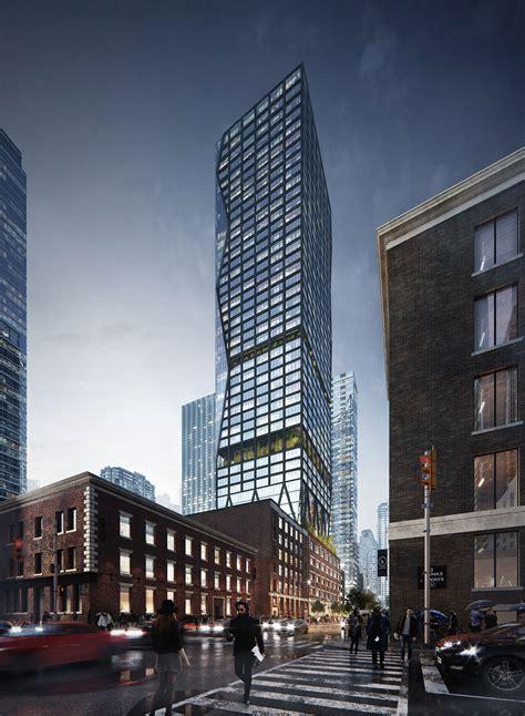Architectural Visualization of Skyscraper Project in