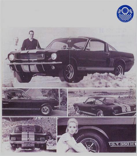 Raven Black 1966 Ford Mustang Shelby Gt-350 Hertz Fastback