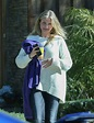 Finally Pregnant! Cameron Diaz Covers Midsection To Hide ...