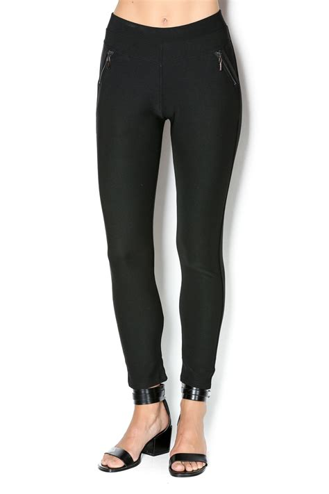 Coco + Carmen Stretch Pull-On Pants from Delaware by The Gift Horse u2014 Shoptiques