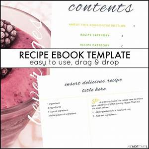 recipe ebook template and next comes l With publisher recipe template