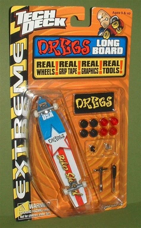 Tech Deck Handboard Tricks by 2000 School Tech Deck Dregs Fingerboard