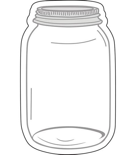 mason jars cut outs