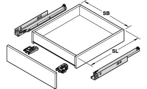 Guide Per Cassetti Blum by Guide Per Cassetti Blum 560h3500b Tandemplus 30kg