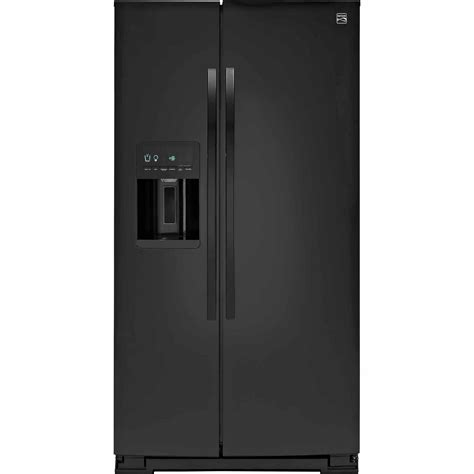 Counter Depth Refrigerator Dimensions Sears by Kenmore 51789 21 Cu Ft Counter Depth Side By Side