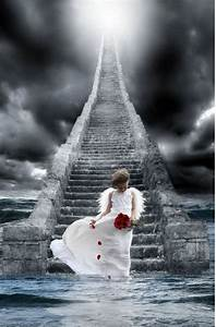 Angel on the Stairway to Heaven | Jesus, Angels, and Faith ...