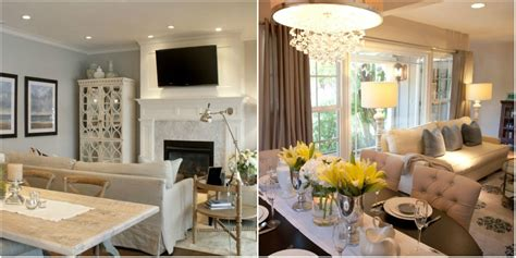 How To Decorate A Living Room Combined With Dining Room