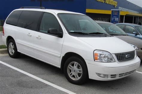 accident recorder 2007 ford freestyle parking system ford s tarnished stars three second tier vans with first tier names the daily drive