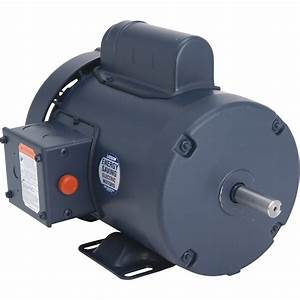 Leeson Woodworking Electric Motor  U2014 1 5 Hp  3 450 Rpm  115