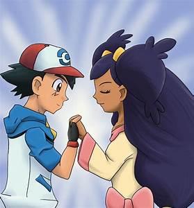 Pokemon Ash And Iris Kiss   www.imgkid.com - The Image Kid ...