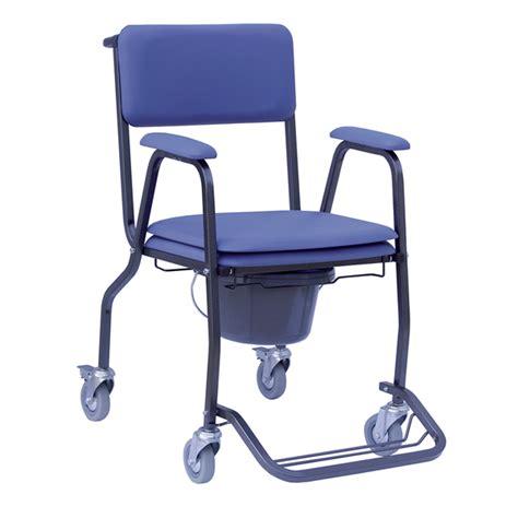 chaise percée à roulettes handicat
