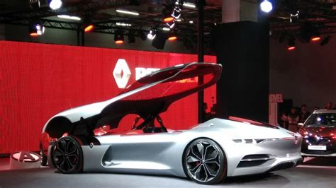 Renault Unveils Electric Car Sports Car