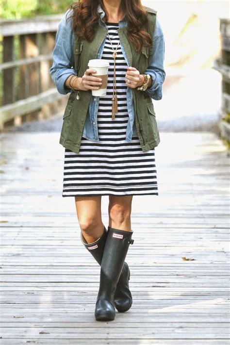 How to Wear Rain Boots | Kelley Blake