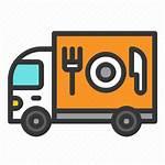 Truck Icon Filled Iconfinder Commerce Transport Fast