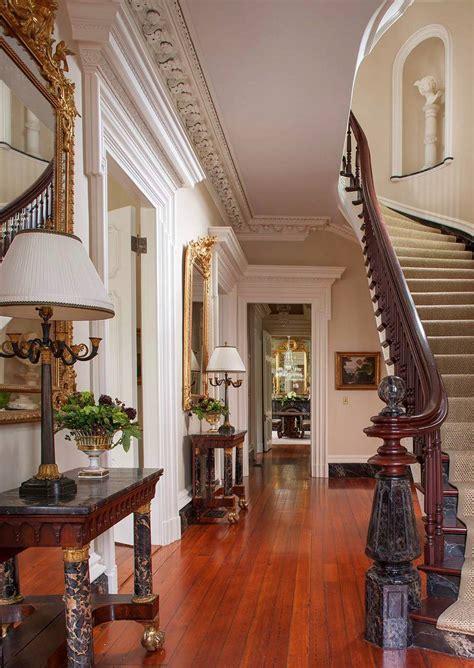 interiors homes southern mansion historic charleston dk decor