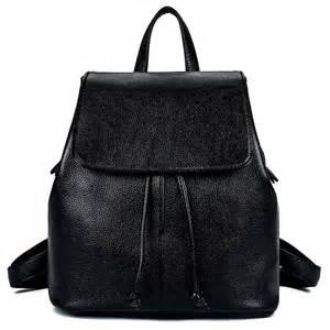 rucksack designer 2016 black leather backpack designer brand genuine leather bag rucksack stylish backpacks