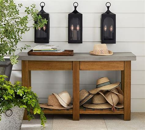 Abbott Console Table   Pottery Barn