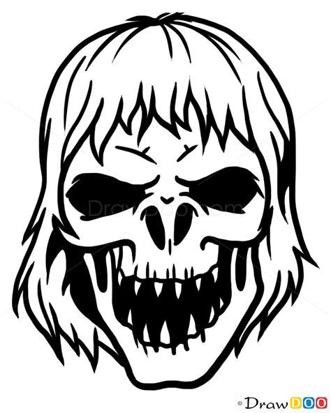Sugar skull tattoos, How to Draw Tattoo Skulls