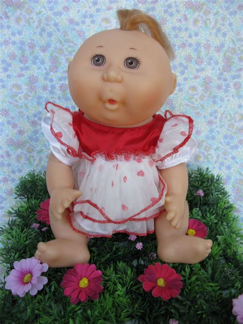 Cabbage Patch Kid Vintage CPK Vinyl Doll 1991 Cabbage