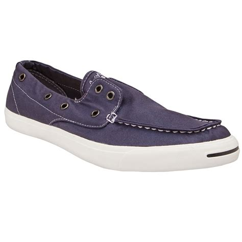 Converse Boat Shoes by Converse Purcell Boat Shoe In Blue For Navy Lyst