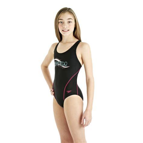 blackpink swimsuit speedo spiralize splashback girls swimsuit sweatband