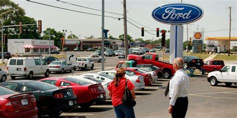 Ford Ceo On Changing Business And Dealer Network