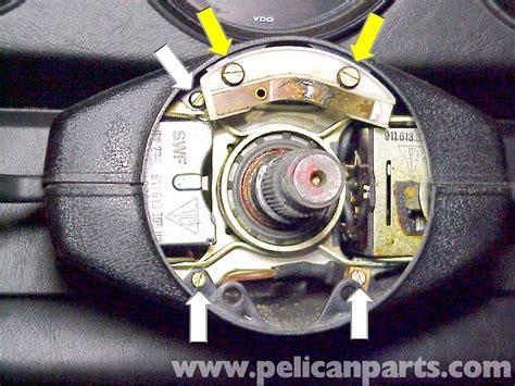 porsche  steering wheel switch replacement