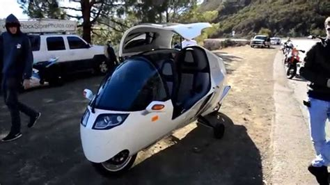 Monotracer (enclosed Motorcycle)+ Interior Views Youtube