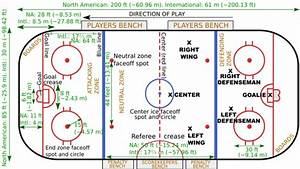 What Is The Area Of A Standard Size Hockey Rink