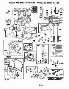 Briggs  U0026 Stratton Briggs And Stratton Engine Parts